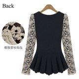 Lace Blouse Shirt Women Blusas Fashion Long Sleeve Woman Clothe