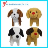 Animated Puppy Plush Dog Toy Walking Barking Wagging Tail Cute Pet Toy - Battery Operated