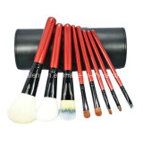 8PCS Natural Hair Makeup Brush with Brush Holder