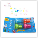 4 Pack Holiday Fun Self Inking Stamps Toy for Kids