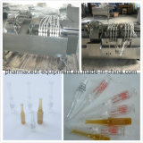 D Model Glass Ampoule 4 Filling Head Filling Sealing Packing Machine