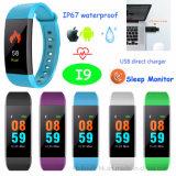 Colorful Display Smart Bluetooth Bracelet with IP67 Waterproof