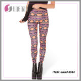 Alibaba Wholesale New Fashion Girls Pants Digital Printed Leggings