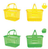 Stacking Hand Shopping Plastic Shop Basket