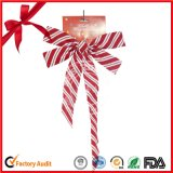 Wholesale Outdoor Large Red Velvet Christmas Tree Bows