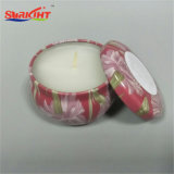 Ceramic Tin Candle with Beautiful Pattern