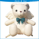 Small Inflatable Advertising Bear, Outdoor LED Advertising Model