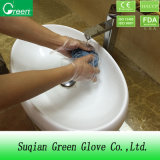 Clear Cheap CPE Cleaning Gloves