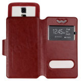 New Arrivel Flip Cover Leather Case for S5