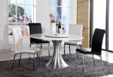 Round Glass Dining Table Set Glass Dining Room Furniture