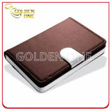 Fashion Style Aluminium & PU Leather Name Card Case