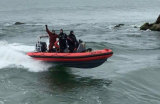 China Aqualand 19feet 5.8m Rigid Inflatable Speed Boat/Rib Rescue/Dive/Fishing/Patrol/Military Motor Boat (RIB580T)