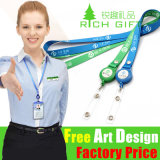 Factory Wholesale Promotional Custom Logo Neck Lanyard with ID Card Holder