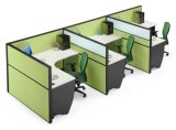 Modern 3 Seats Office Partition Cubicle Workstation (SZ-WST657)