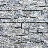 Artificial Samistone Cheap Grey Nero Santiage Granite Wall Cladding Cement Stone Panel Decoration for Exterior and Interior Wall