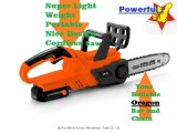 Lithium-Ion Battery Cordless Hand Held Electric Chainsaw Garden Power Tool