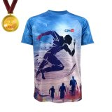 100% Polyester Cool Quick Dry Marathon Tshirt, Running T-Shirt Sublimation T-Shirt Gift in