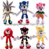 Hot Sale Cute Soft Stuffed Animal Super Sonic Plush Doll