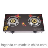LPG Auto Ignition Tempered Glass Top Gas Stove
