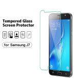 Mobile Phone Premium Glass Screen Protector for Samsung Galaxy J7