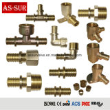 Ce Approved Copper Brass Tube Plumbing Hose Compression Pipe Fitting