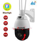 "Starlight HD IP 6"" 4G WiFi PTZ CCTV Camera"
