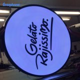 Outdoor Wall Mount Bar Light Box Rotating Pub Sign 3D Acrylic Moulding Signage