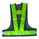 Wholesale LED Light Brightness Highway Safety Jacket Reflective Vest for Safety Equipment