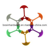 8mm Aluminum Rope Cord Tent Fasteners for Outdoor Camping