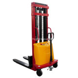 Warehouse Equipment Mini Semi Electric Pallet Stacker for Sale with Ce Certificate