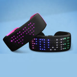 Novelties 2021 Christmas Concert Custom Flashing LED Wristband Light up