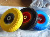 Flat Free PU Foam Wheel 3.50-4