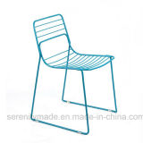 Modern Design Metal Iron Wire Frame Cafe Dining Chair