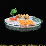 Round Clear Acrylic Fruit Dish
