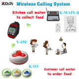 CE Approved 433.92MHz Wireless Calling System for Fast Food Service