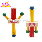 New Fashion Educational Bell Wooden Toy Baby Rattle with Competitive Price W07I132