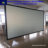 Xy Screen 180 Inch Large Size Outdoor 16 9 Fast Fold Projector Screen Rear Projector Screen with Flight Case and No MOQ