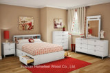 Kids 3 Pieces Bedroom Furniture Set White