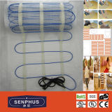 160W/M2 Twin Conductor Electric Underfloor Heating Cable Mat