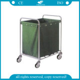 AG-Ss013 Stainless Steel Hospital Use Linen Trolley