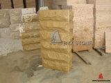 Beige Sandstone Mushroom / Natural Split Corner Stone for Wall Cladding