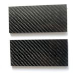 "Carbon Fiber 1/8"" - 1.5""X5"" - Scales - Knife Handle Material"