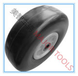 10 Inch Flat Free PU Foam Rubber Trolley Wheel Tire 3.00-4