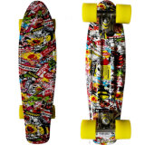 "Complete Street Cruiser Classic Plastic Deck 22"" Skateboard"