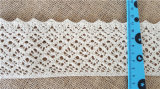 Wide Thick Cotton Crochet Lace for Table Cloth Curtain Hometextiles