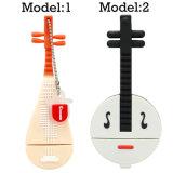Fashion Cartoon Musical Instrument Lute USB Flash Pens