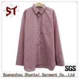Wholesale Women 's Daily Casual Striped Shirt Casual Apparel Shirt