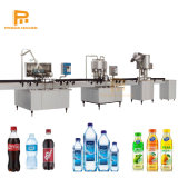 Automatic Small Pet Glass Bottle Mineral Water / Soft Carbonated Drinks / Fruit Juice Hot Filling Bottling Making Equipment / Production Line Machine