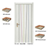 High Quality Cheap Security Swing Wood Door