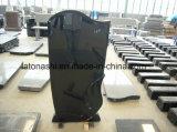 Chinese Shangxi Black Granite Tombstone for Memorials